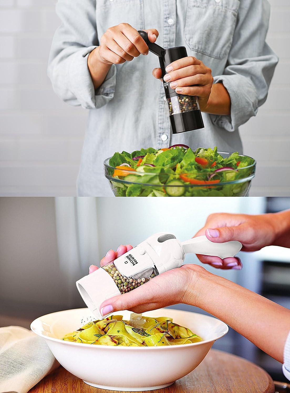 Kuhn Rikon Adjustable Ratchet Grinder with Ceramic Mechanism for Salt Pepper an