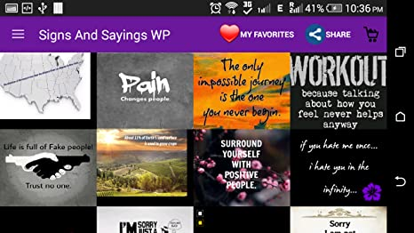 Amazoncom Signs And Sayings Wallpapers Appstore For Android
