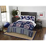 Officially Licensed NFL New York Giants Full Bed in a Bag Set, 78' x 86'