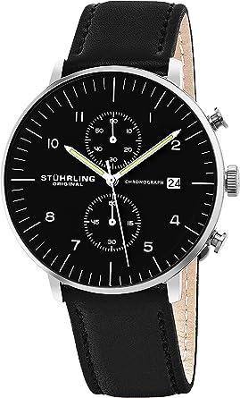 Amazon Com Stuhrling Original Men S Monaco Quartz Chronograph