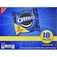 Deals on Oreo Chocolate Sandwich Cookies 72 Snack Packs