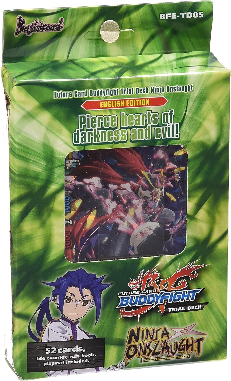 Amazon.com: Futuro tarjeta Buddyfight TCG: Ninja Ataque ...