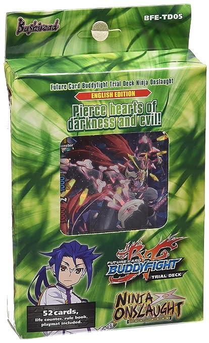 Bushiroad Future Card Buddyfight TCG: Ninja Onslaught Trial Deck