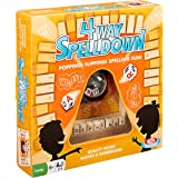 Ideal 4-Way Spelldown Family Board Game
