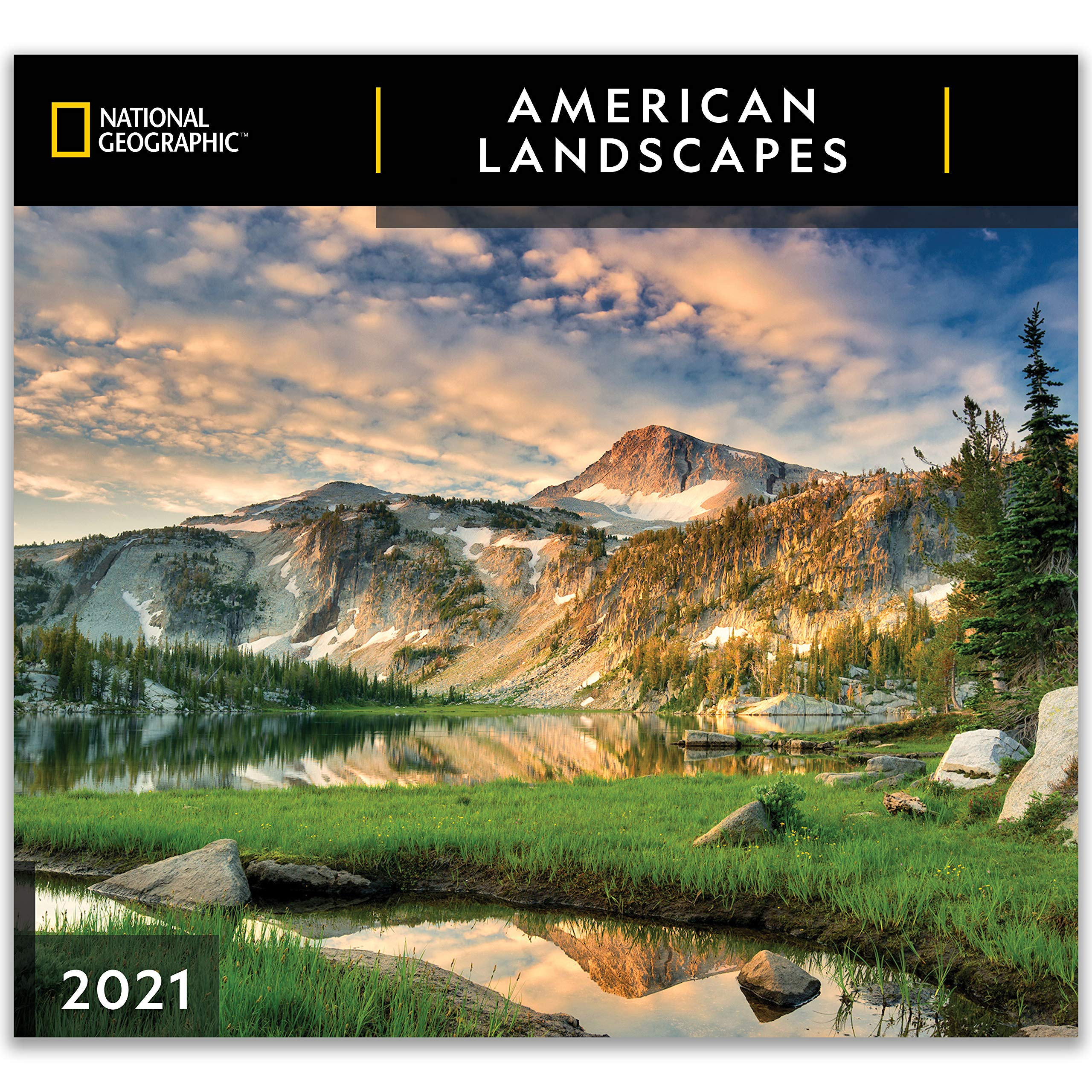 National Geographic American Landscapes 2021 Wall Calendar: Zebra