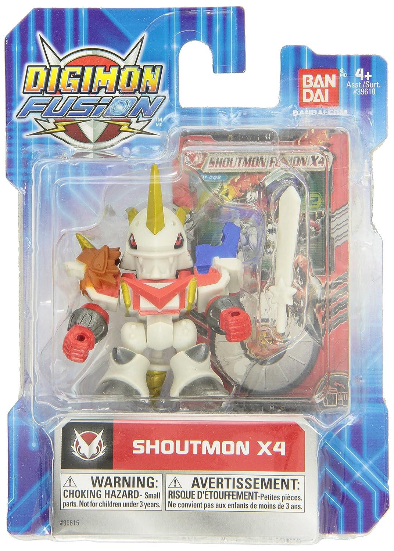Barato Digimon Fusion Action Figure Shoutmon X4 by Digimon Fusion