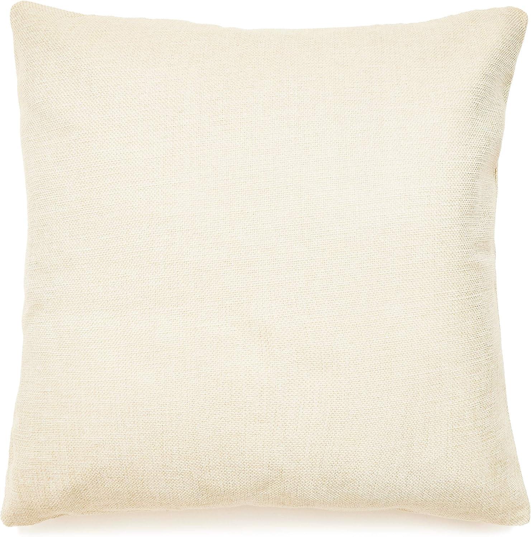 Home DIY Plain Pillow Case Cover Sofa Waist Cushion Cover Pillowcase Sham