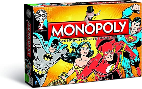 Winning Moves Monopoly: DC Comics Originals [Importación Alemana]: Amazon.es: Juguetes y juegos