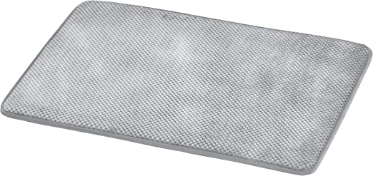 Amazon.com: AmazonBasics Textured Memory Foam Bath Mat   Pack of 2