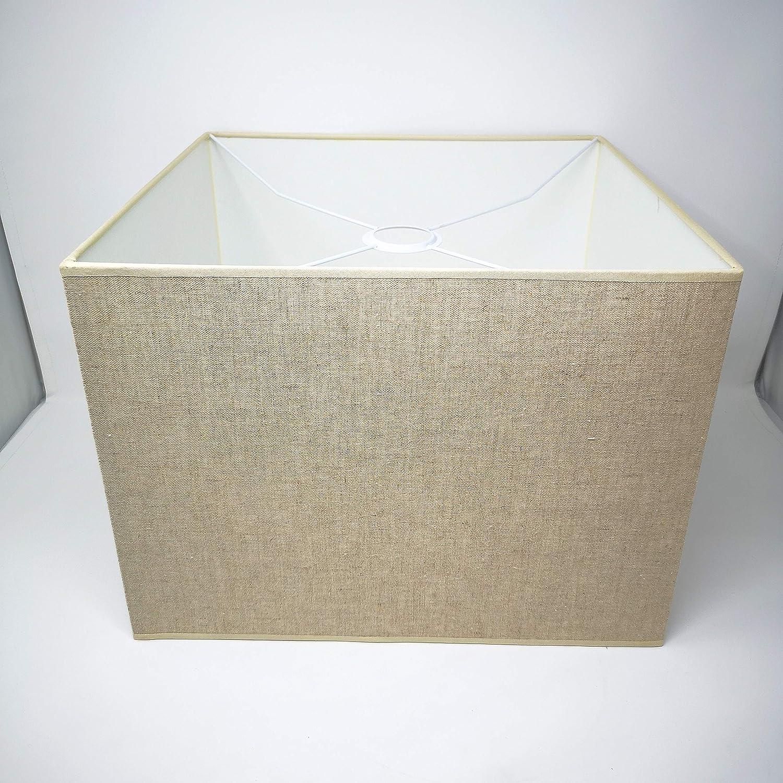 Pantalla de repuesto para lámpara de pie, color beige, diámetro 35 cm, para bombilla E27: Amazon.es: Iluminación
