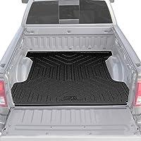 Husky Liners Heavy Duty Bed Mat Fits 2019 Chevrolet Silverado 1500 6.6' Bed, 2019 GMC Sierra 1500 6.6' Bed,Black,16005
