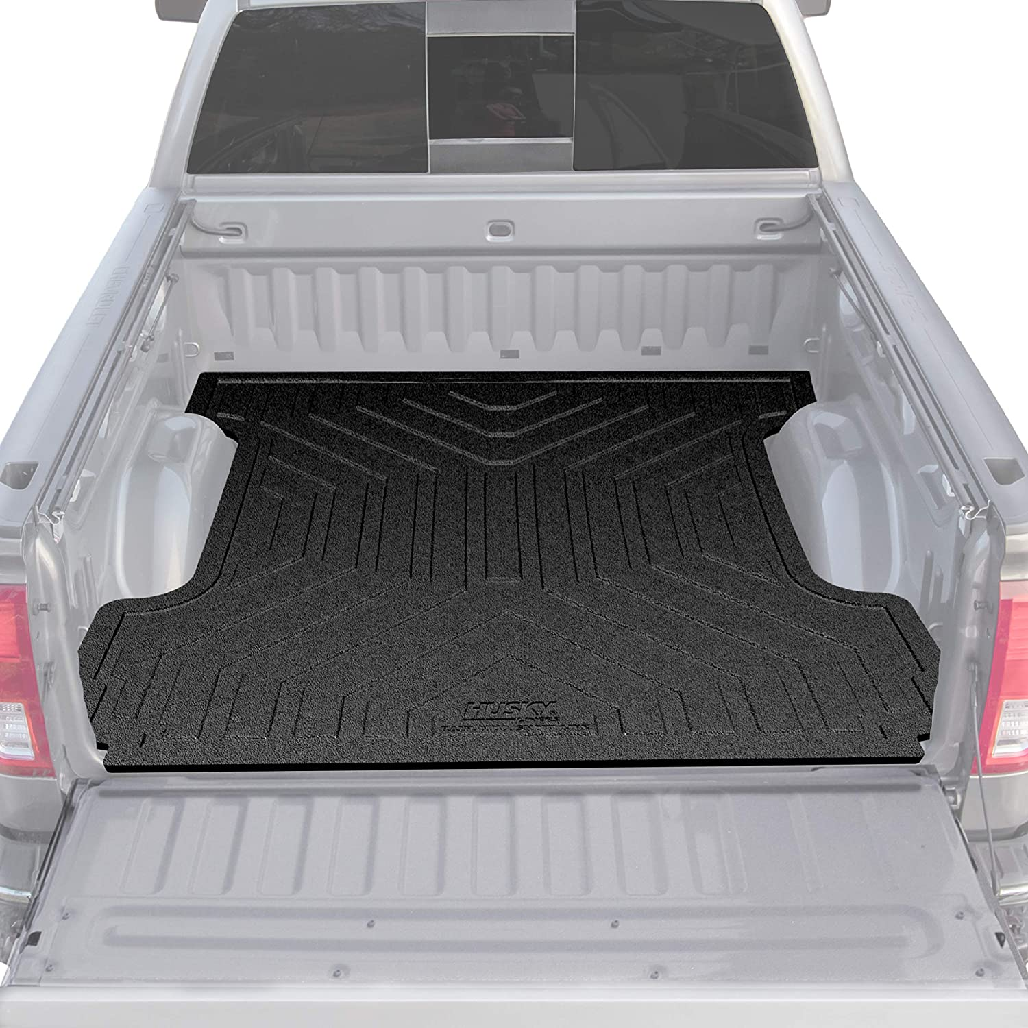 Husky Liners 16010 Black Fits 2017-2019 Ford F-250 Super Duty 6.5 Bed 2017-2019 Ford F-350 Super Duty 6.5 Bed Heavy Duty Bed Mat