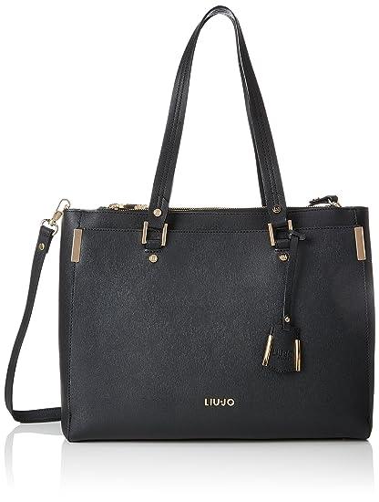 Liu Jo Jeans LIU JO A68001 E0087 Borsa a tracolla Donna Nero TU  MainApps   Amazon.it  Abbigliamento 9c3468e44b8