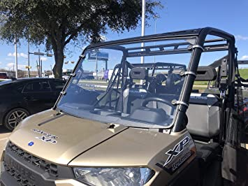 Super ATV Polaris RZR 570//4 800//XP 4 900//XP 900 Full Windshield