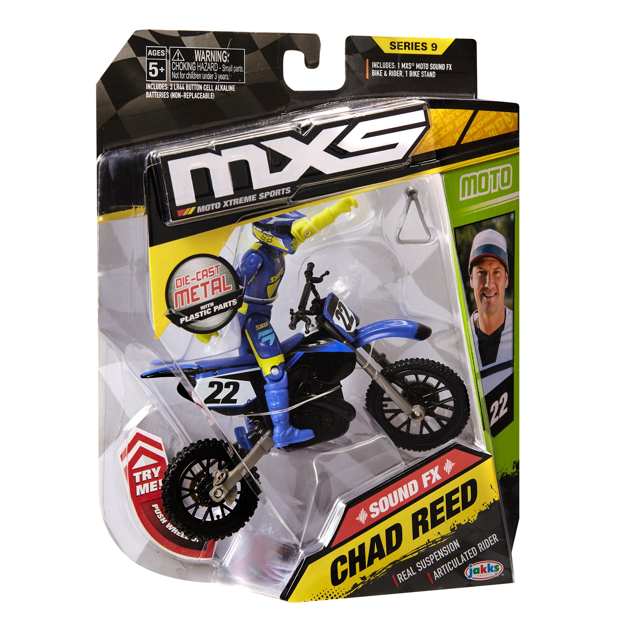 MXS Boys Chad Reed SFX Bike & Rider Set by MXS (Image #11)