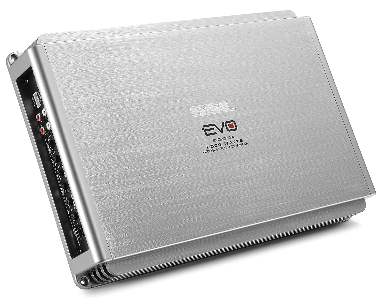 Sound Storm EVO2000.4 EVO 2000 Watt, 4 Channel, 2 to 8 Ohm Stable Cl on