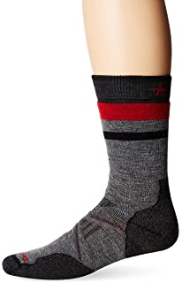 Amazon.com : Smartwool Men's PhD Outdoor Light Crew Socks (Taupe ...:Smartwool PhD Outdoor Medium Pattern Crew Socks,Lighting