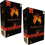 Beef Bone Broth by Kettle & Fire - 100% Grass-fed, Organic, Collagen-rich Beef Bone Broth, 16.9 Ounce, 2-Pack