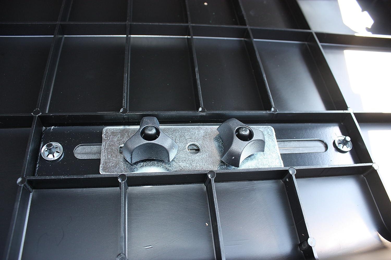 RAX K0381644R Box Auto 131 x 43 x 78 cm; 11 kg Nero