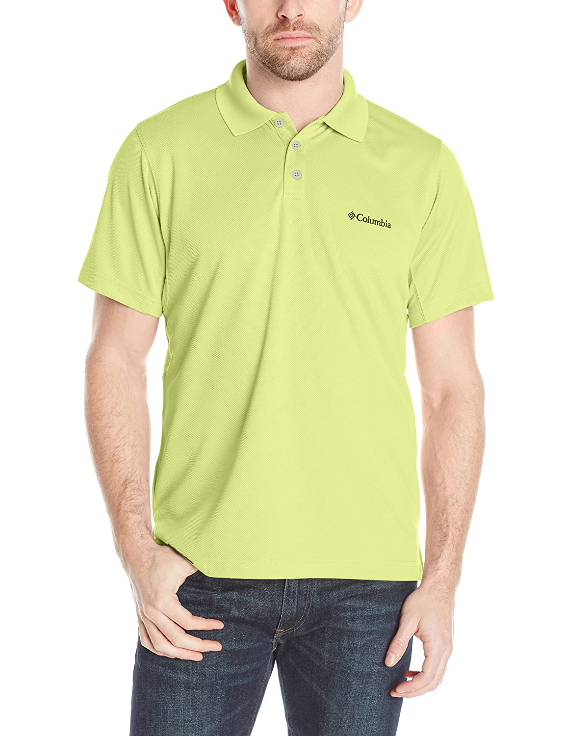 94c0ade4a2f Columbia Men's New Utilizer Polo Shirt at Amazon Men's Clothing store: