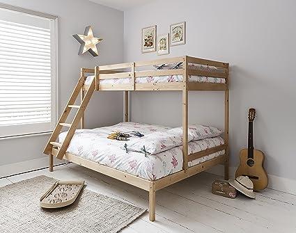 Litera con tres camas Kent en color natural, de Noa & Nani: Amazon ...