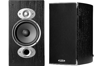 Polk Audio RTi A3 Pair 150w 8 Ohms 89db Bookshelf Speakers Black