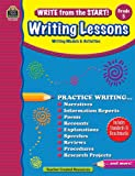 Write from the Start! Writing Lessons Grd 5