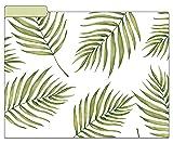 "bloom daily planners File Folders - Set of Six 8.5"" x 11"" Folders - Palm Leaves"