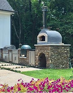 amazon com chicago brick oven 5 piece pizza oven kit outdoor