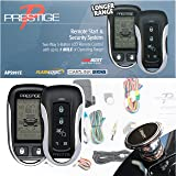 Prestige APS997Z Two-Way LCD Command Confirming Remote Start/Keyless Entry and Security System with up to 1 Mile…