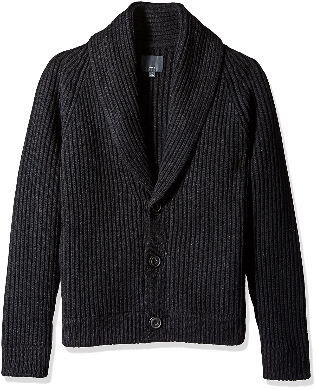 Vince Men's Button Front Cardigan