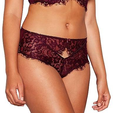 e6c82cc7a78 Debenhams Gorgeous Dd+ Womens Purple Floral Lace  Marcia  High Waist ...