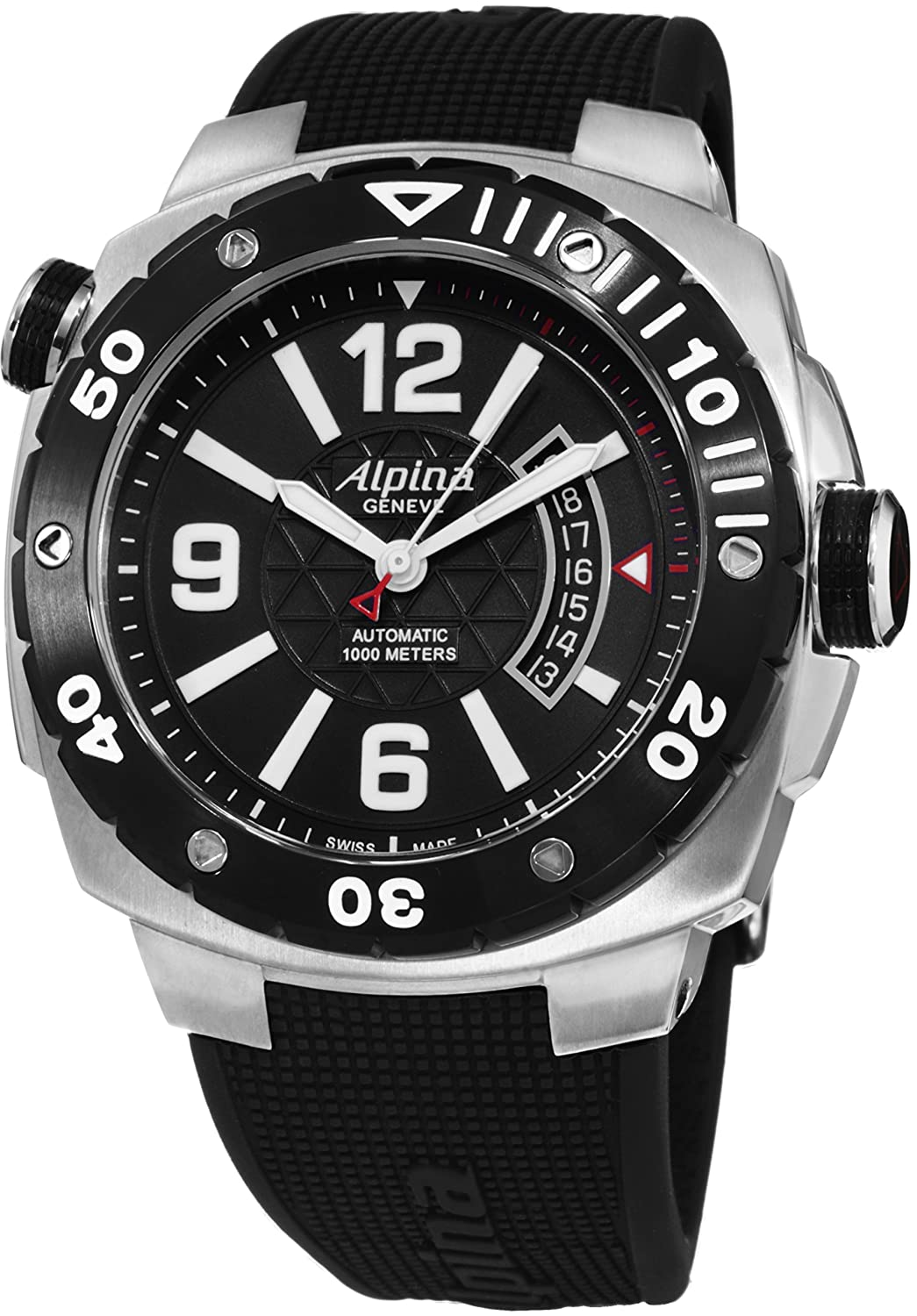 Alpina Men's Extreme Diver Black Stainless Steel Watch