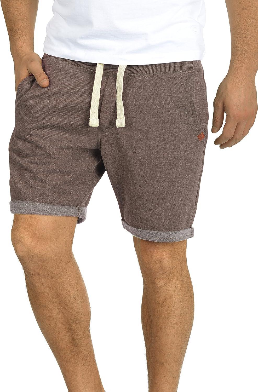Blend Timo Herren Sweatshorts Kurze Hose Jogginghose mit Fleece-Innenseite und Kordel Regular Fit