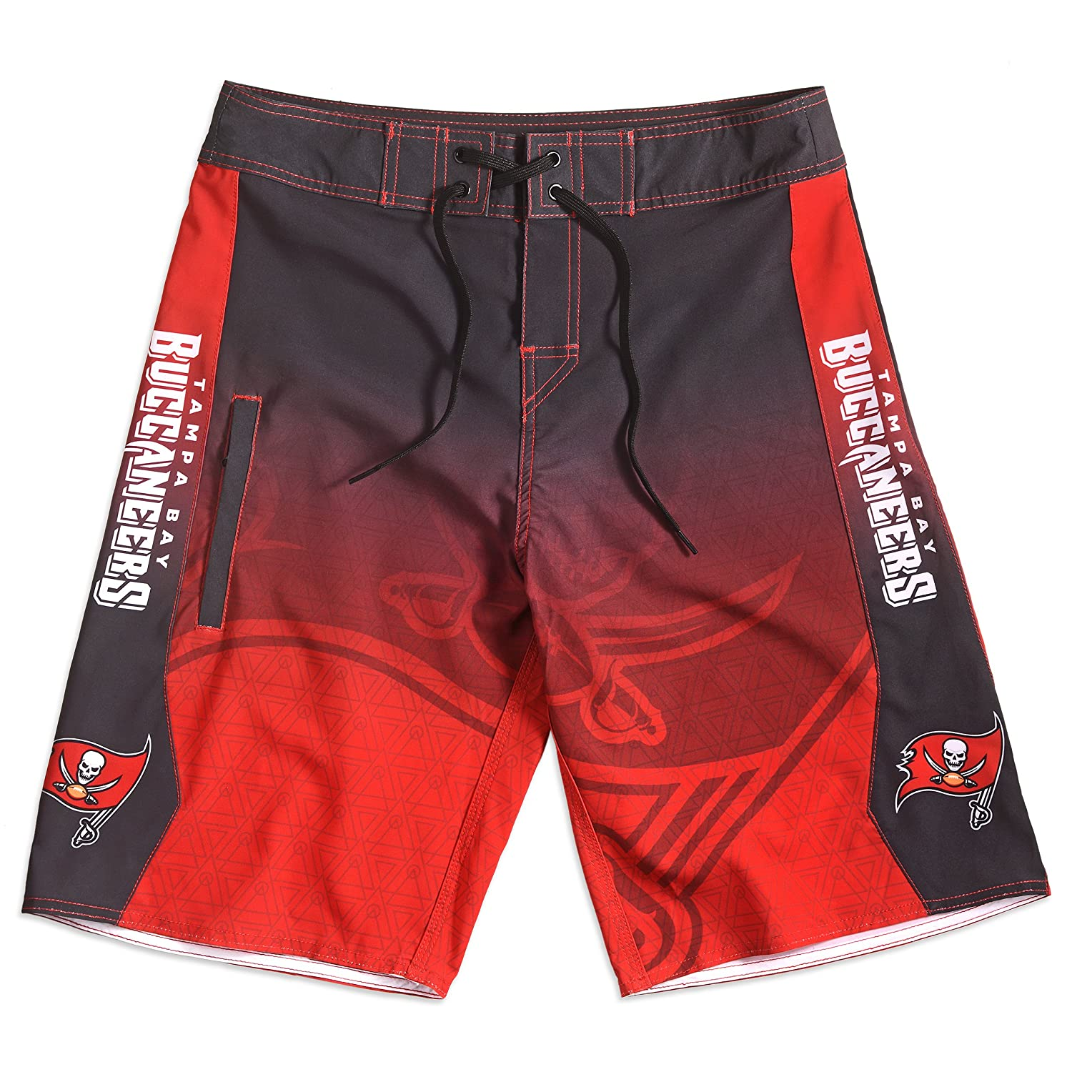 Tampa Bay Buccaneers Gradient Board Short Double Extra Large 40