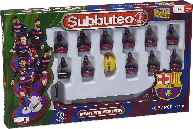 Subbuteo - Team Box FC Barcelona 2ª edición: Amazon.es: Deportes y ...