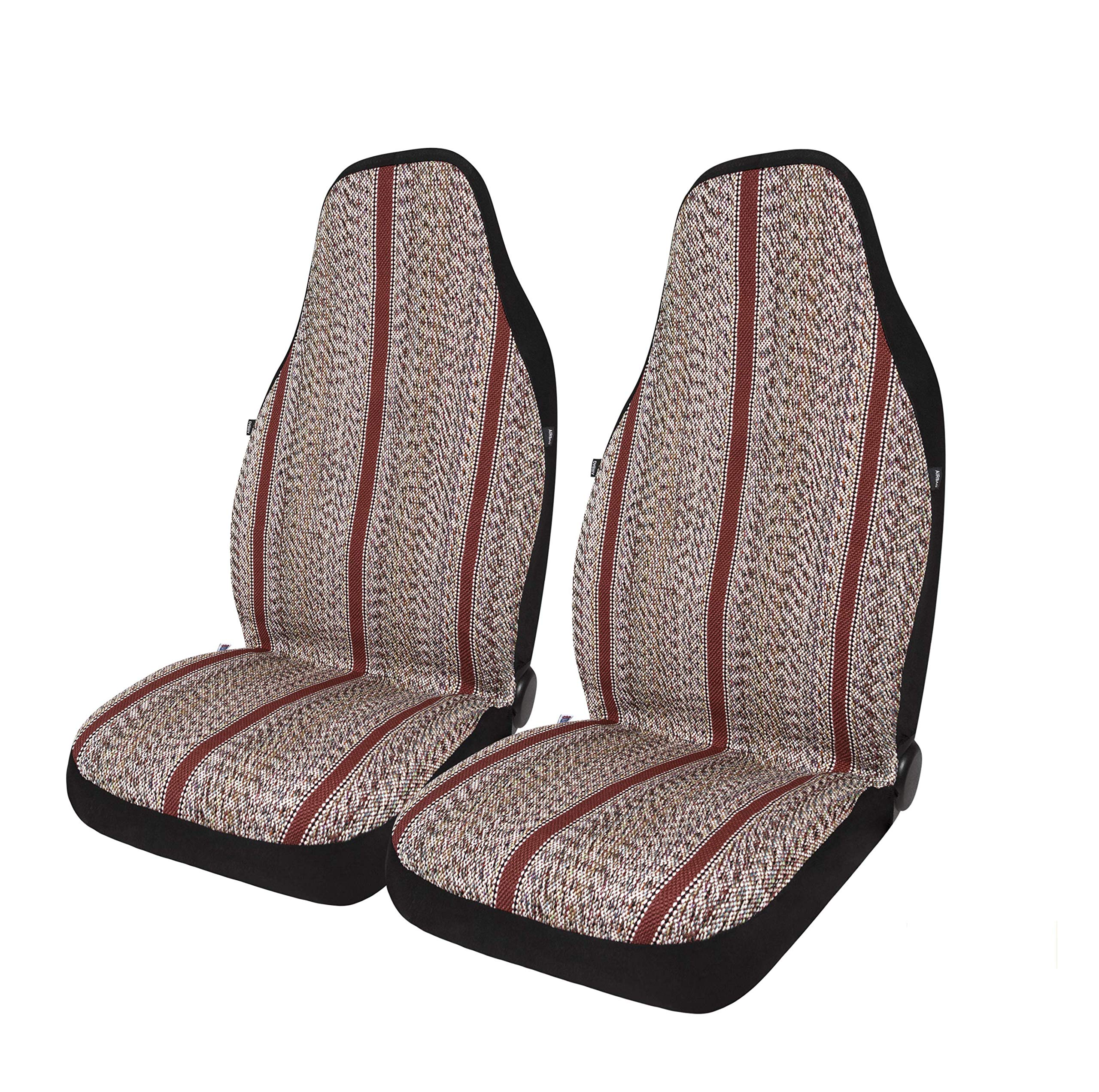 West Coast Auto Baja Blanket Bucket Seat Cover for Car, Truck, Van, SUV - Airbag Compatible (2PCS) (Red) by West Coast Auto