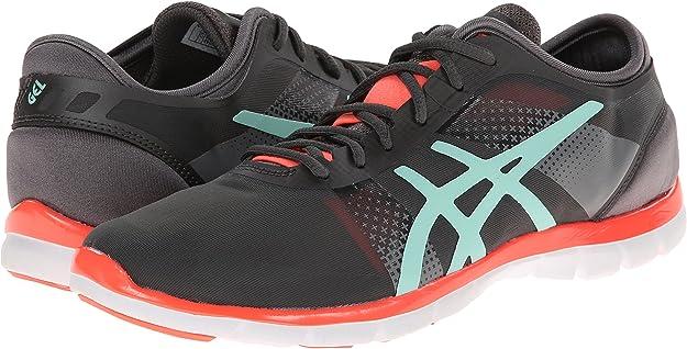Asics Gel-fit Nova-w 37 EU - Zapatillas de Running para Mujer, Color Negro, Plateado y Rosa: Asics: Amazon.es: Zapatos y complementos