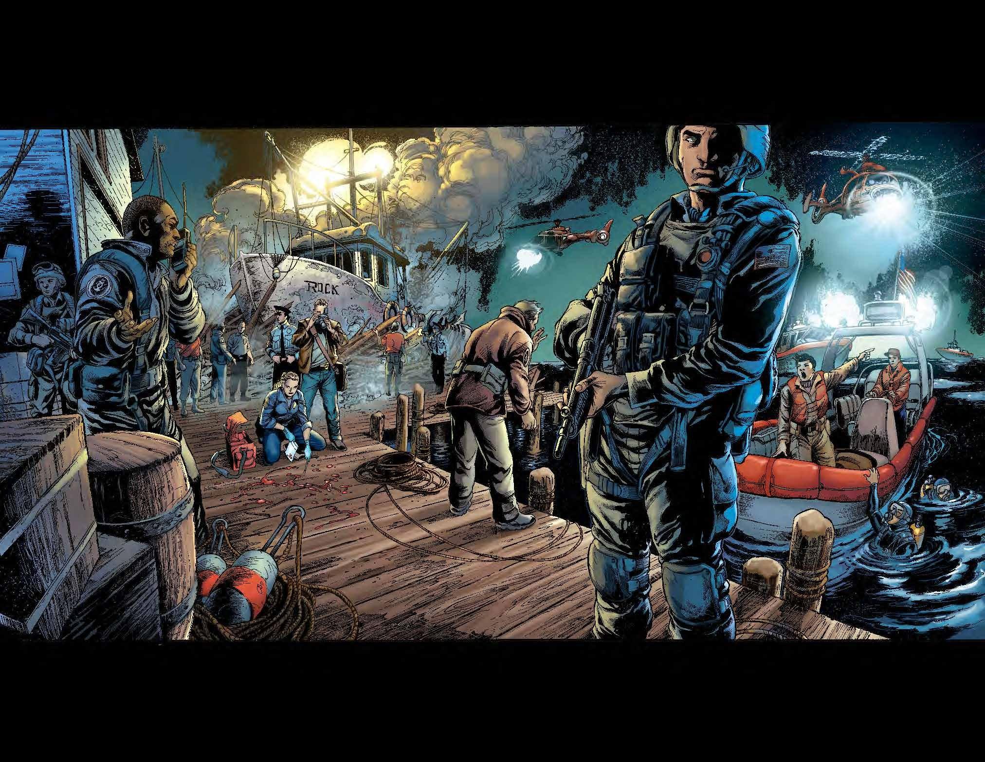 Amazon com: Aquaman Vol  1: The Trench (The New 52) (9781401237103