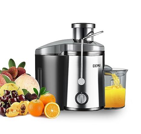 DEMU: licuadora profesional para frutas y verduras, 400 W ...