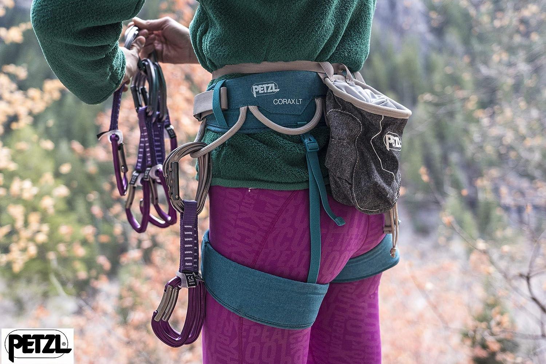 PETZL - Arnés de escalada CORAX LT para mujer, turquesa, XS ...