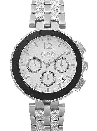 8655176904bf Versus by Versace Homme Analogique Quartz Montre avec Bracelet en Acier  Inoxydable VSP762418