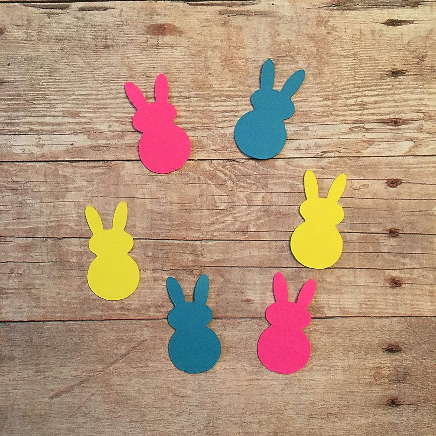 Craft Supplies Faux Leather Sheets Bunny Faux Leather Fabric Easter Bunny PINK PEEPS Easter Decorations