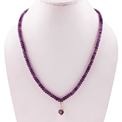 nuovo prodotto marchio popolare pregevole fattura Neerupam Collezione ametista viola pietre semi-preziose ...