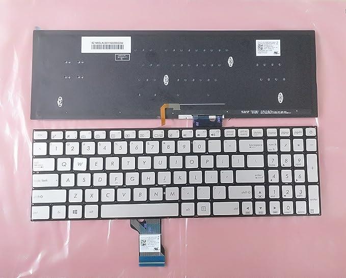 New Black Asus ROG G501J G501JW G501JW-DS71 G501V G501VW Keyboard US backlit