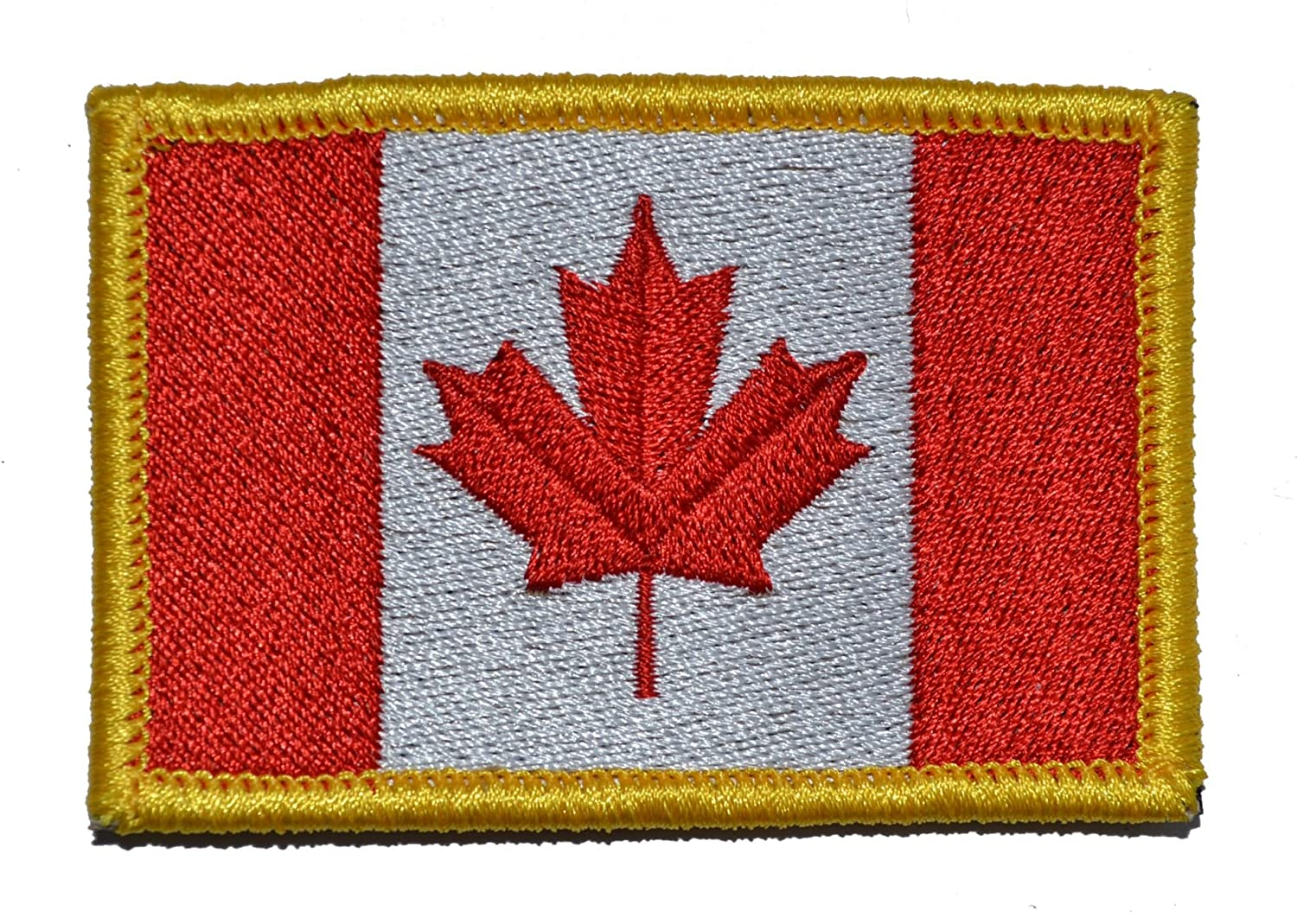 canadian flag canada maple leaf 2x3 military patch morale patch