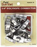 Field Guardian 10-Pack Polyrope Connector, 1/4-Inch