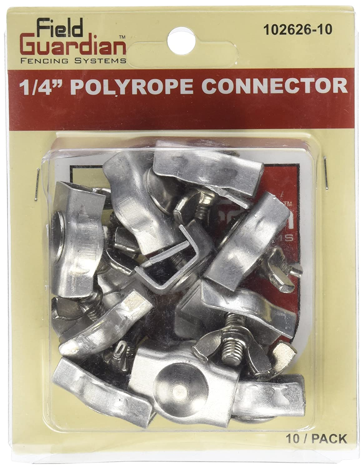 Field Guardian 10-Pack Polyrope Connector 1 4-Inch