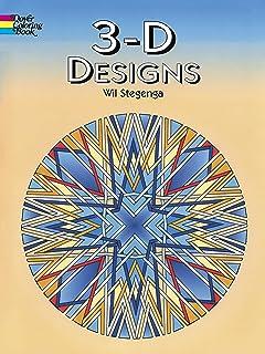3 D Designs Dover Design Coloring Books