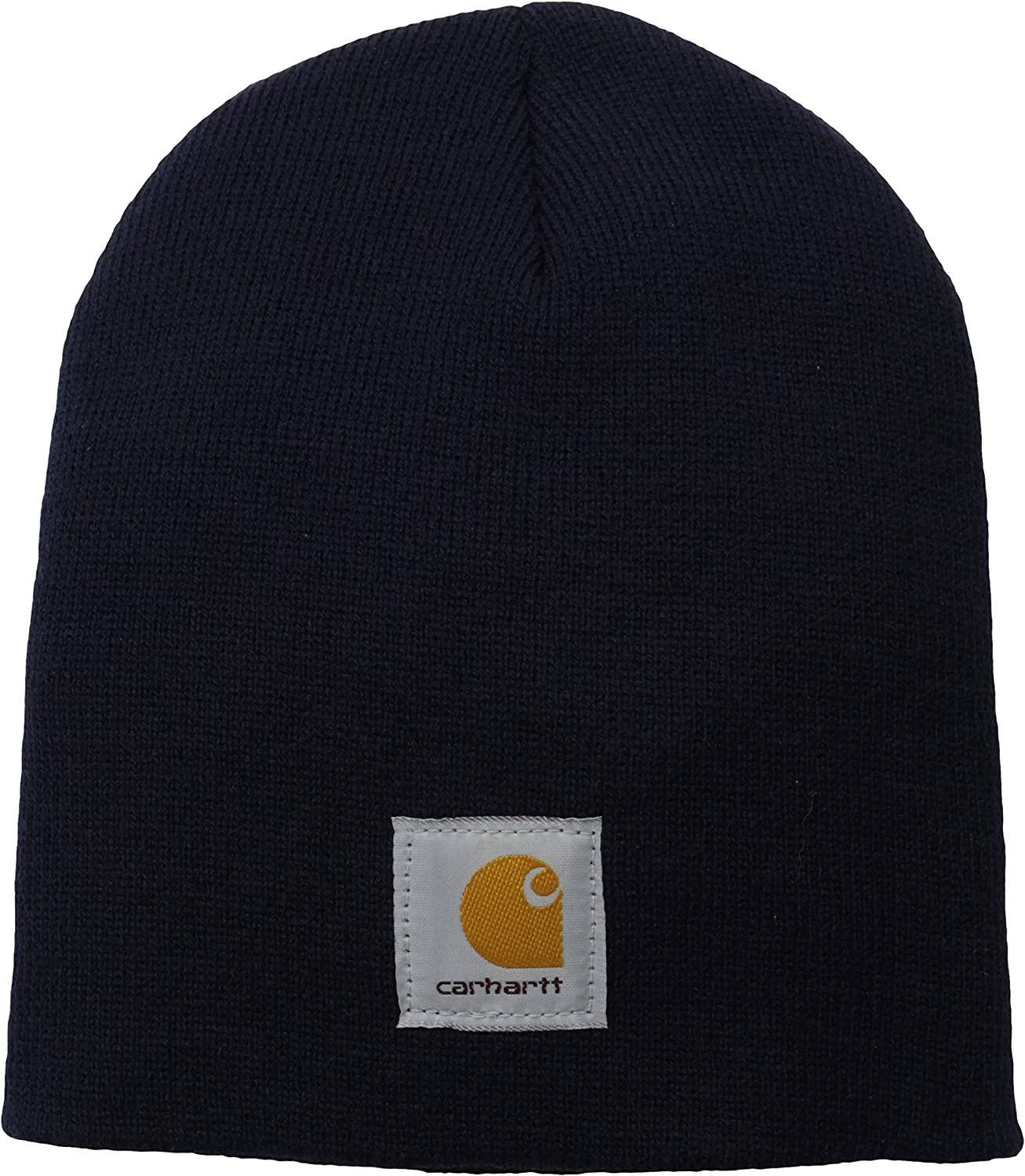 Carhartt Men's Acrylic Knit Hat A205, Navy, One Size at  Men's Clothing store: Safety Equipment